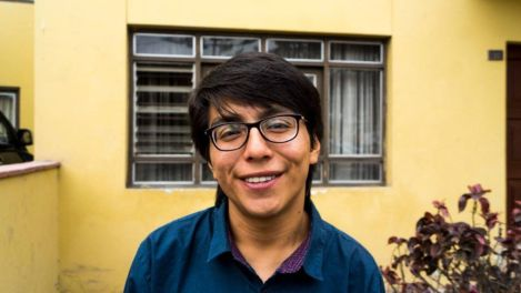 El poeta Adrián Huamán Araujo