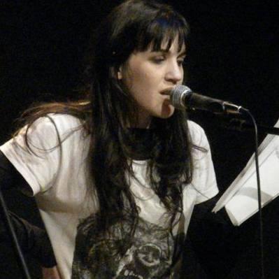 La poeta Celeste Diéguez