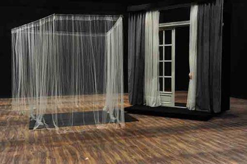 Instalación 1 de Triana Leborans.