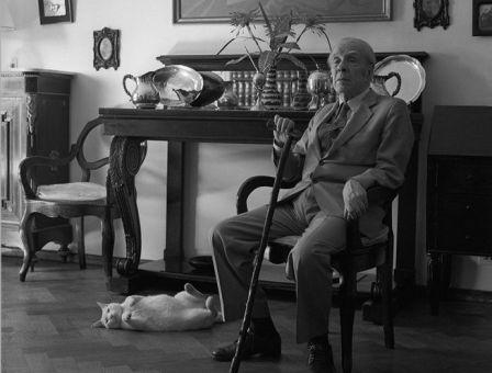 El escritor Jorge Luis Borges