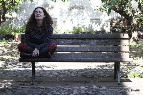 La poeta Romina Freschi. Crédito de la foto Vito Rivelli