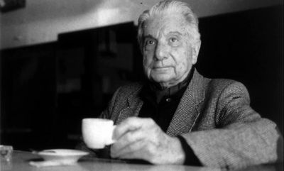 El escritor Augusto Roa Bastos en Madrid-España.