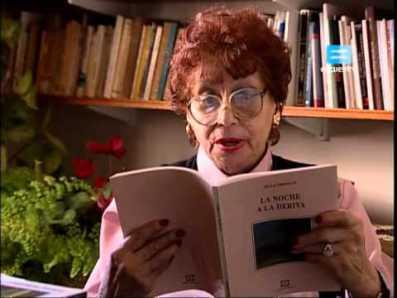 La poeta Olga Orozco