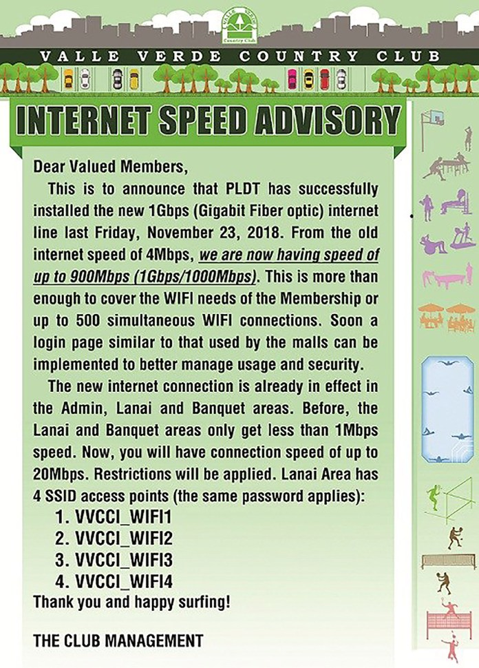 Internet Speed Advisory 1