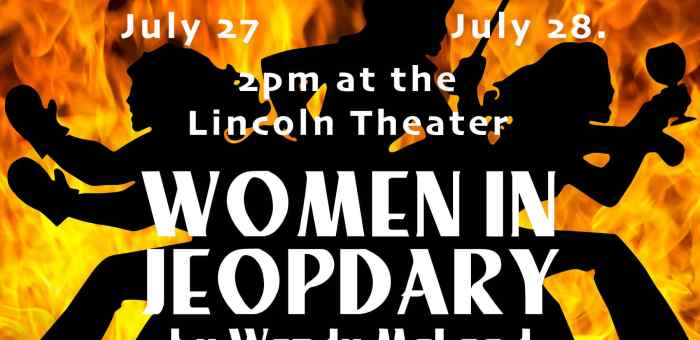 Auditions for Women in Jeopardy by Wendy McLeod