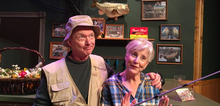Review: 'Farce of Habit': 'Community theater saved my life!'