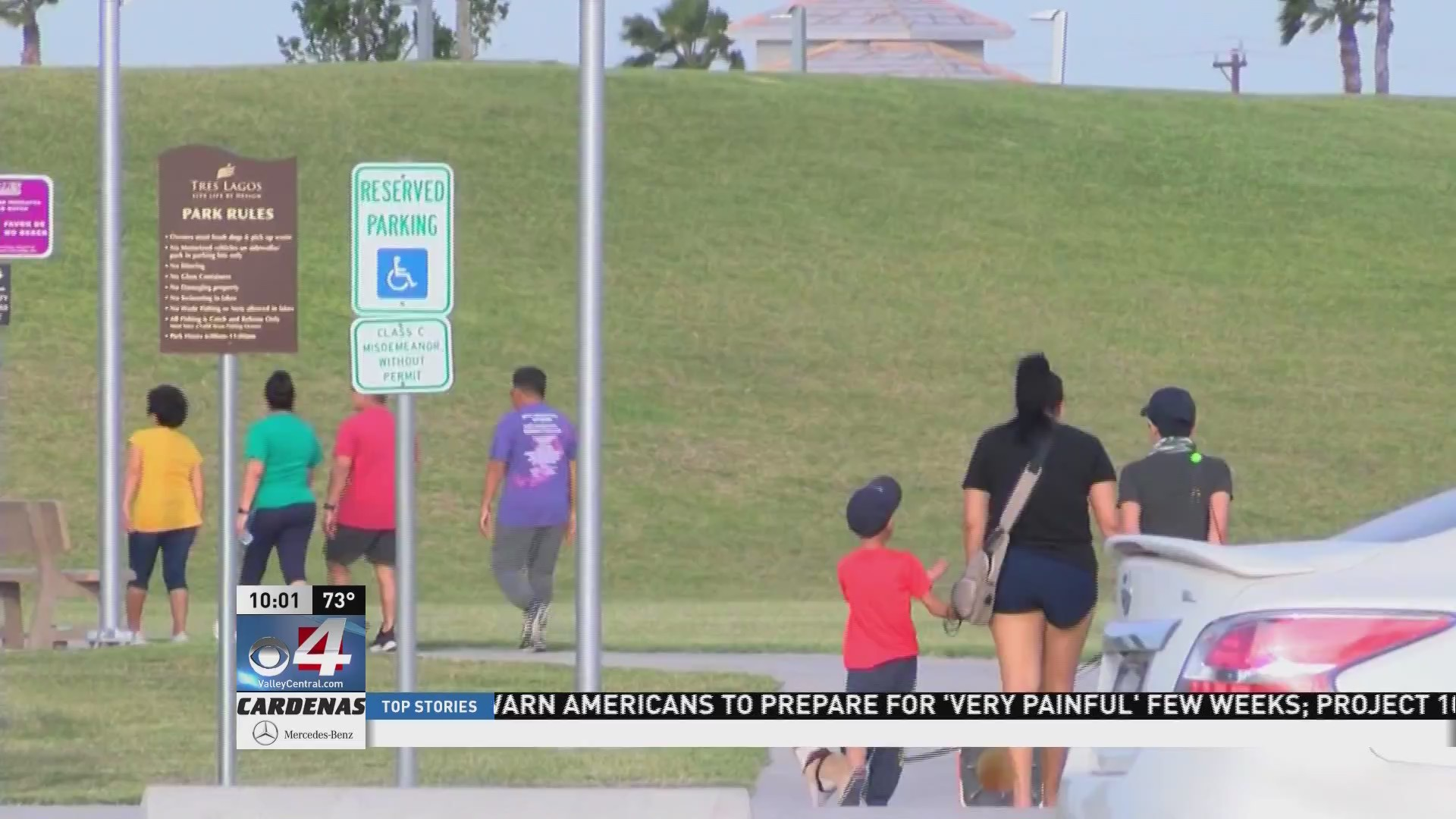 City of McAllen official addresses why parks remain open during COVID-19 pandemic