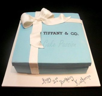 B250 Tiffany Box