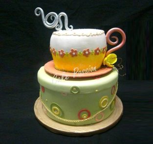 B363 Tea Cup Wishes