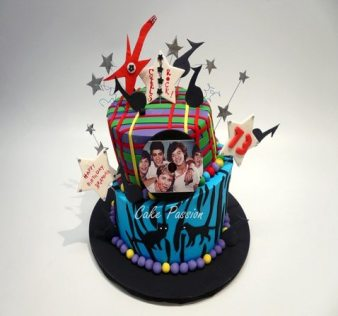 CB187 One Direction Birthday Cake