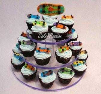 SC21 Skateboard Cupcakes