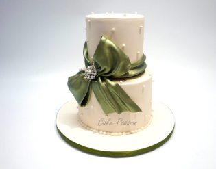 W630 Green Sugar Bow
