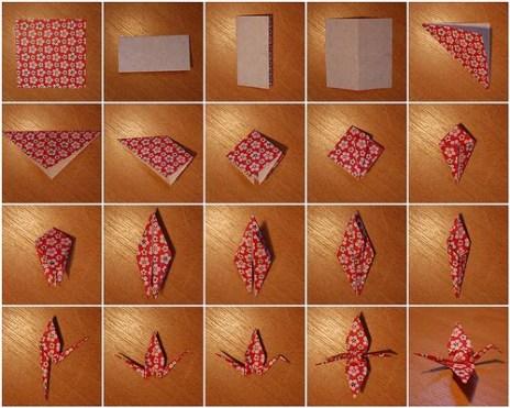 Paper Crane Steps