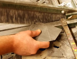 Cutting slate