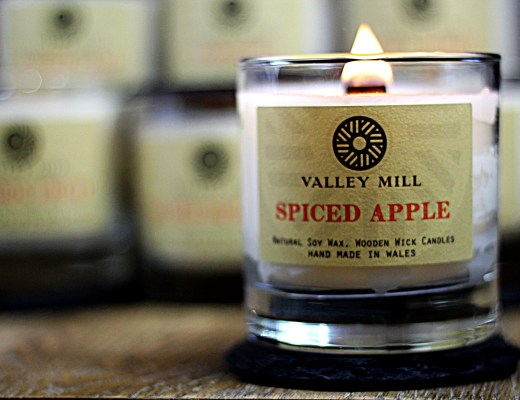 Valley Mill Christmas Spiced Apple Soy Wax Candle
