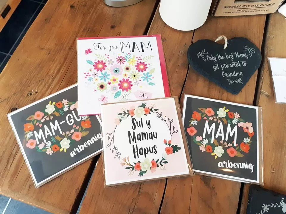 Welsh Mother's Day Greetings Cards