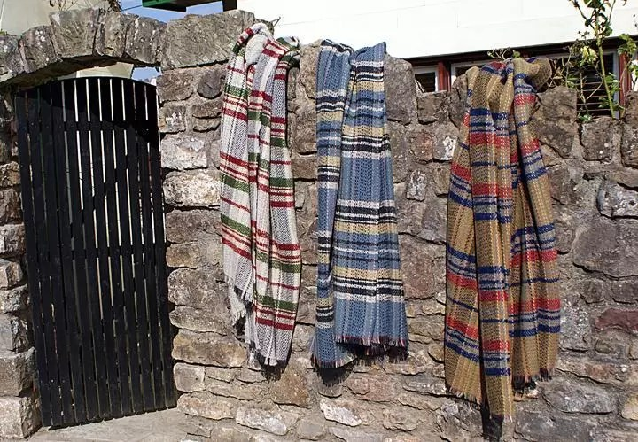 Valley Mill Recycled Wool Throws
