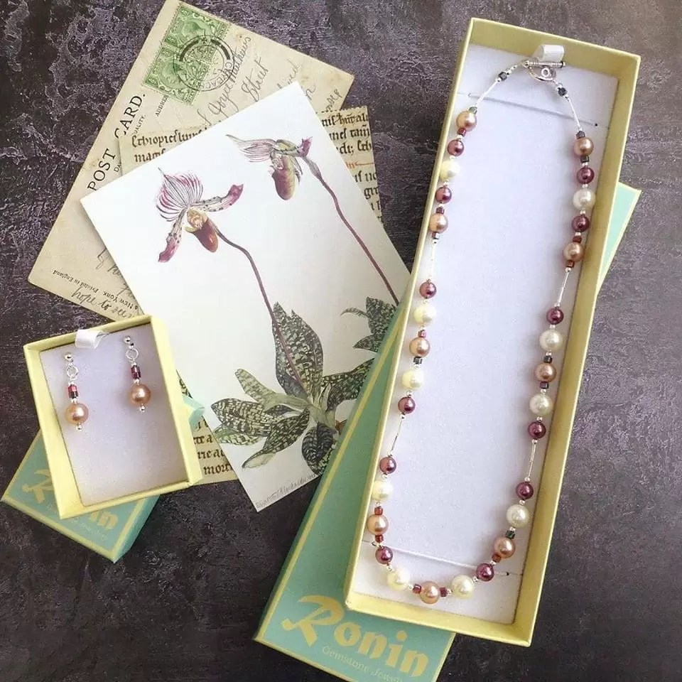 Ronin gemstone jewellery collection - Orchid