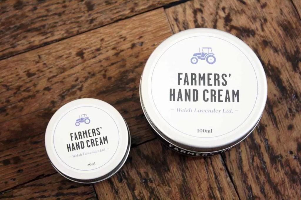 Mini & Large Hydrating Welsh Lavender Farmers' Hand Cream