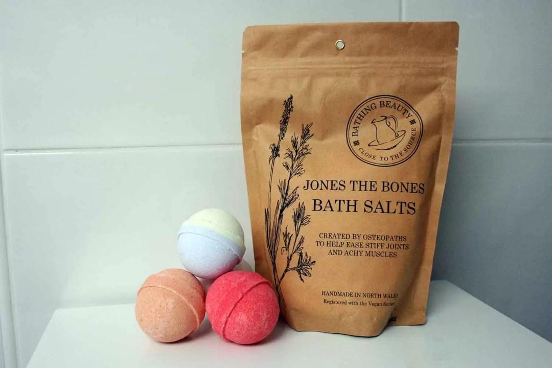 Bathing Beauty Jones the Bones Bath Salts & Mini Handmade Bath Bombs