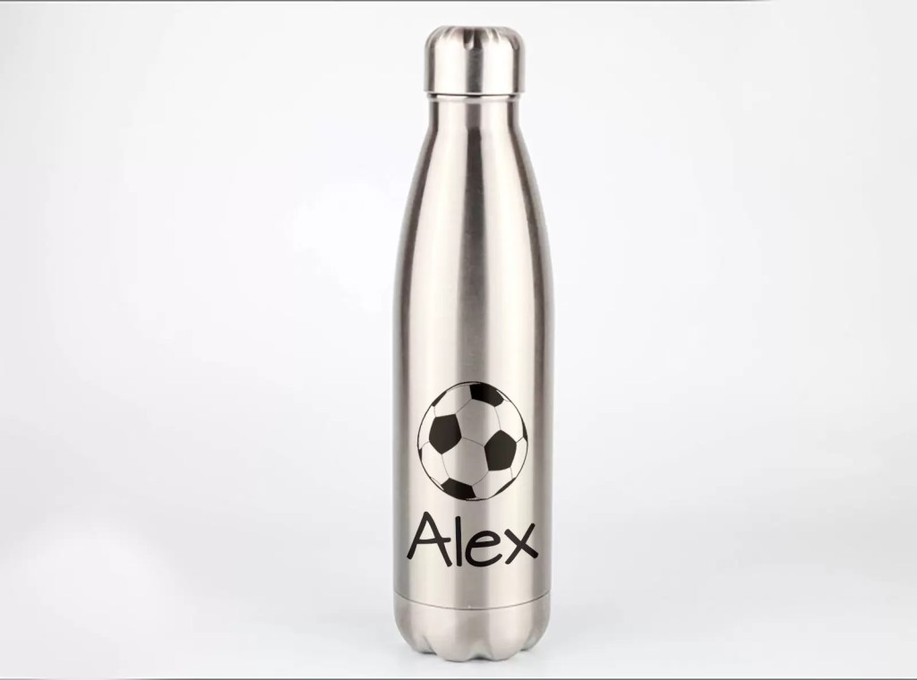 Stainless Steel Personalised Metal Water Bottle