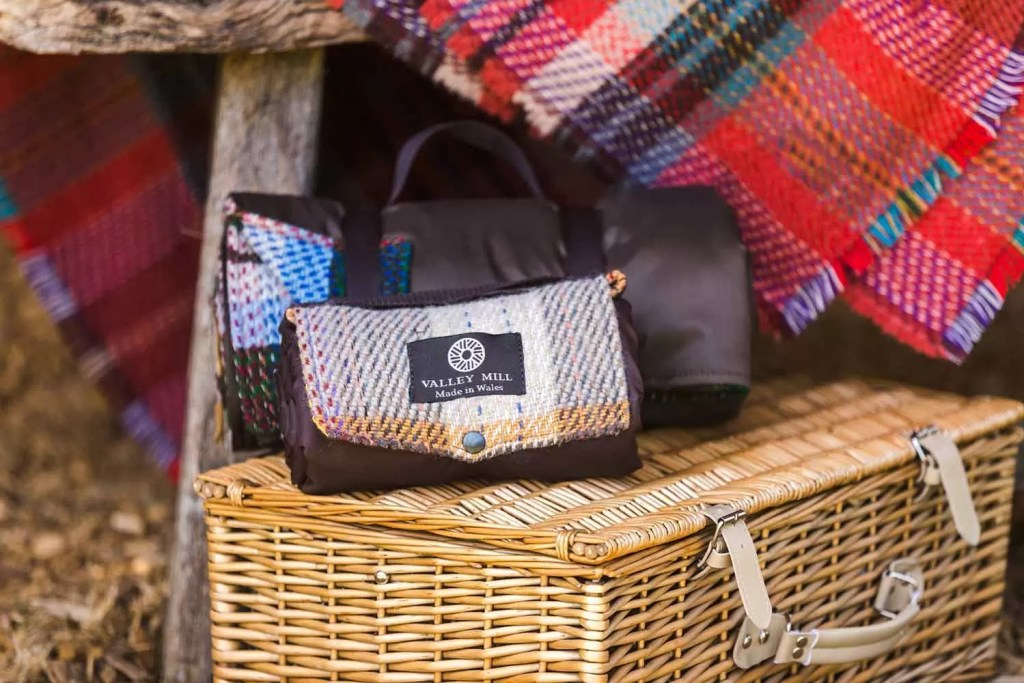 Valley Mill Random Recycled Wool Picnic Blankets