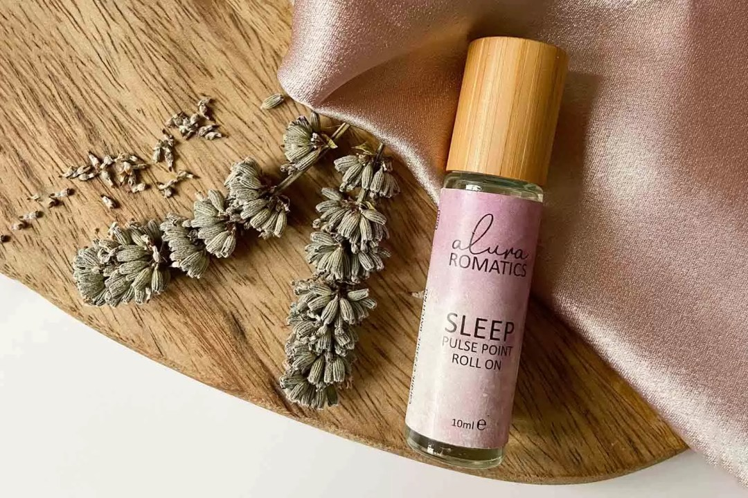 Natural aromatherapy from Alura Romatics Sleep Pulse Point Roll on with lavender