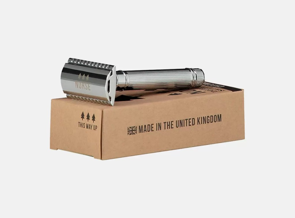 Norse reusable safety razor available at Valley Mill