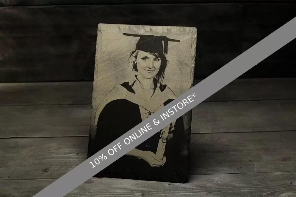 June offer of 10% off photograph engraving valid until Sat 19th June 2021 17:00