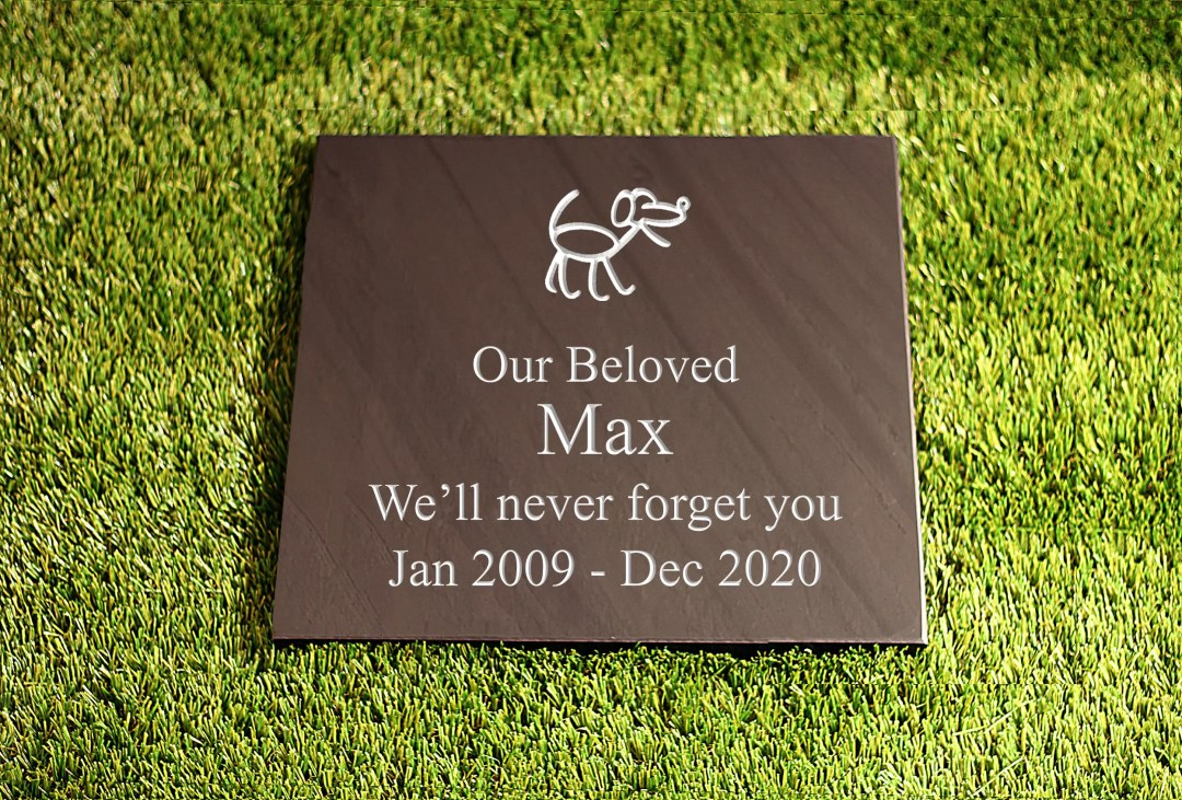 Pet Memorial Plaques for outside
