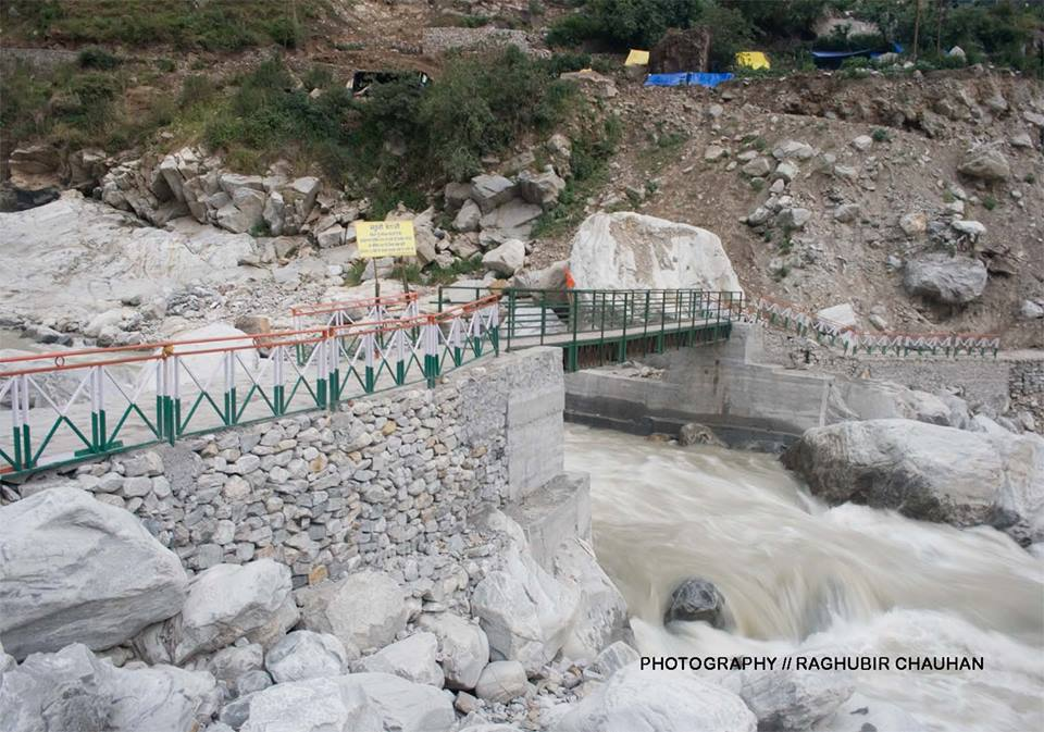 New Bridge at Govindhat.