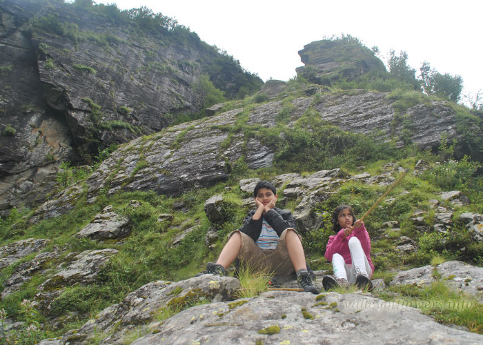 Me and My brother on the way to Valley of Flowers