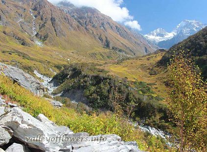 Valley of Flowers after Floods