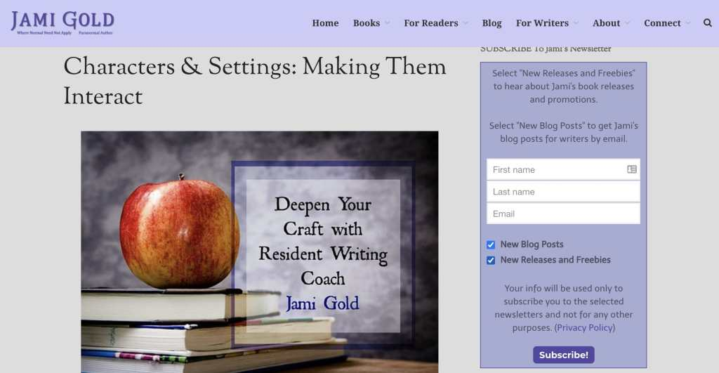 Jami Gold Blog