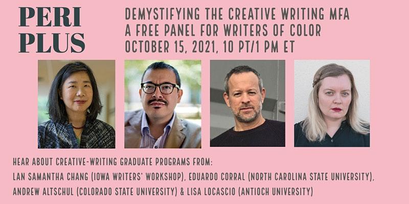 Periplus- Demystifying the Creative Writing MFA