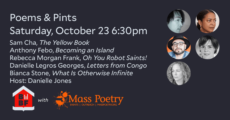 Boston Book Festival- Poems & Pints