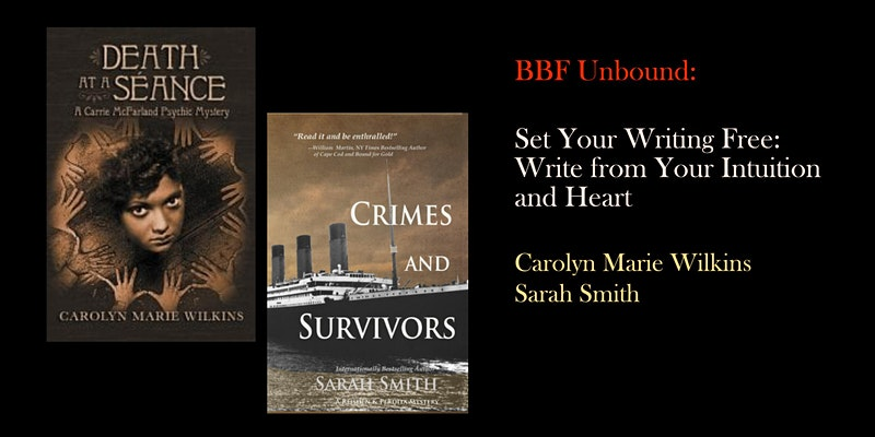 Boston Book Festival- Set Your Writing Free- Write from Your Intuition and Heart