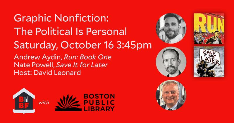 Graphic Nonfiction- The Political Is Personal-Boston-Book-Festival-2021