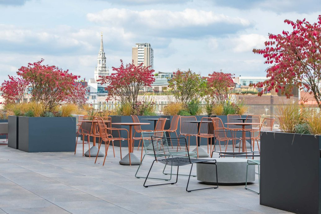 green amenity space, landscaped amenity areas, valley provincial, london
