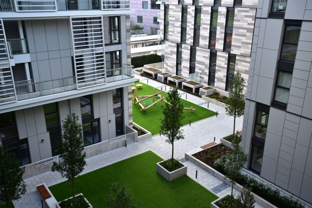 Podium Landscape in London by Valley Provincial