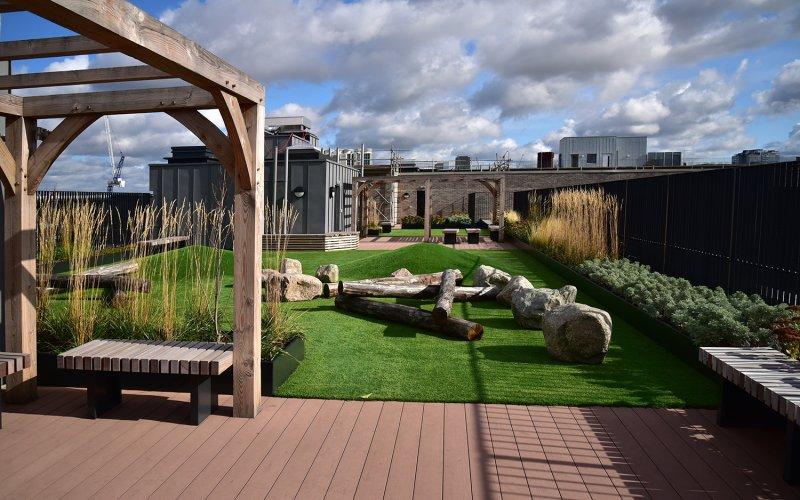 Landscaped Amenity Areas – Balancing Public & Private Spaces
