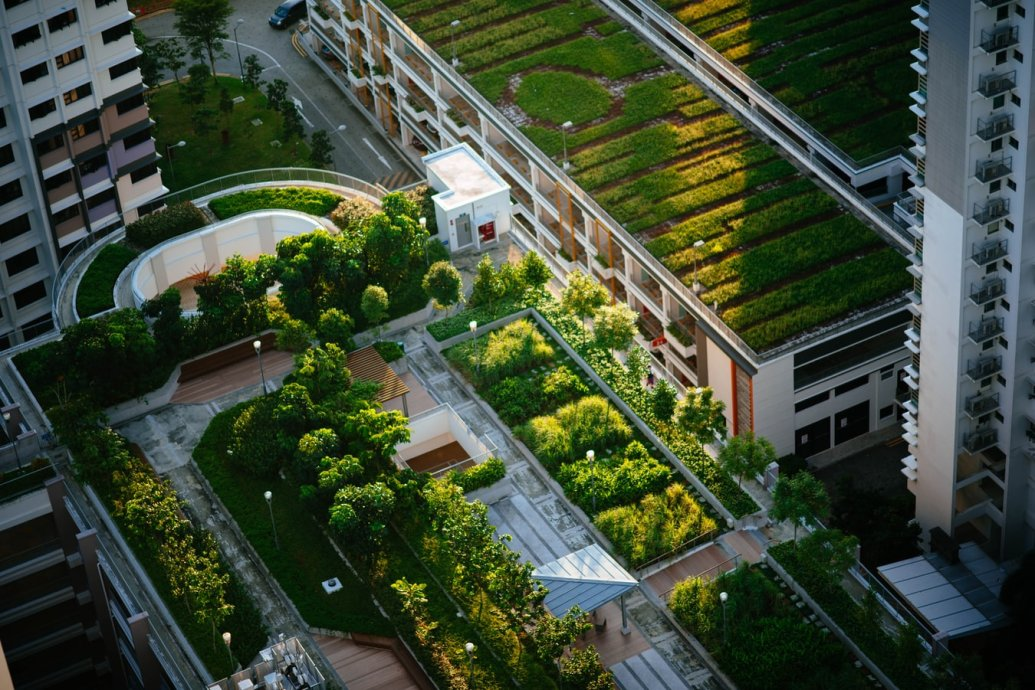 Roof Terraces & Sky Gardens in London by Valley Provincial