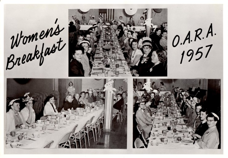 1957 - OARA Womens Breakfast