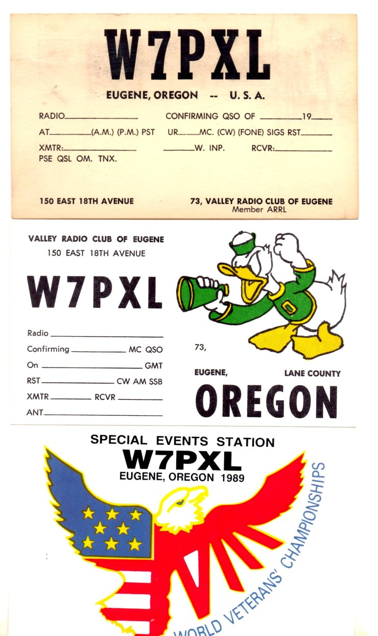 QSL Cards for VRC
