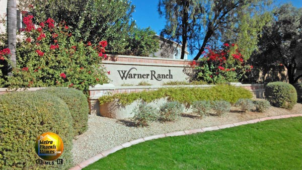 Picture of one entry into Warner Ranch Tempe