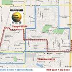 Warner Ranch Tempe Chandler Boundary Map