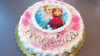 torta di compleanno frozen pasticceria acquario