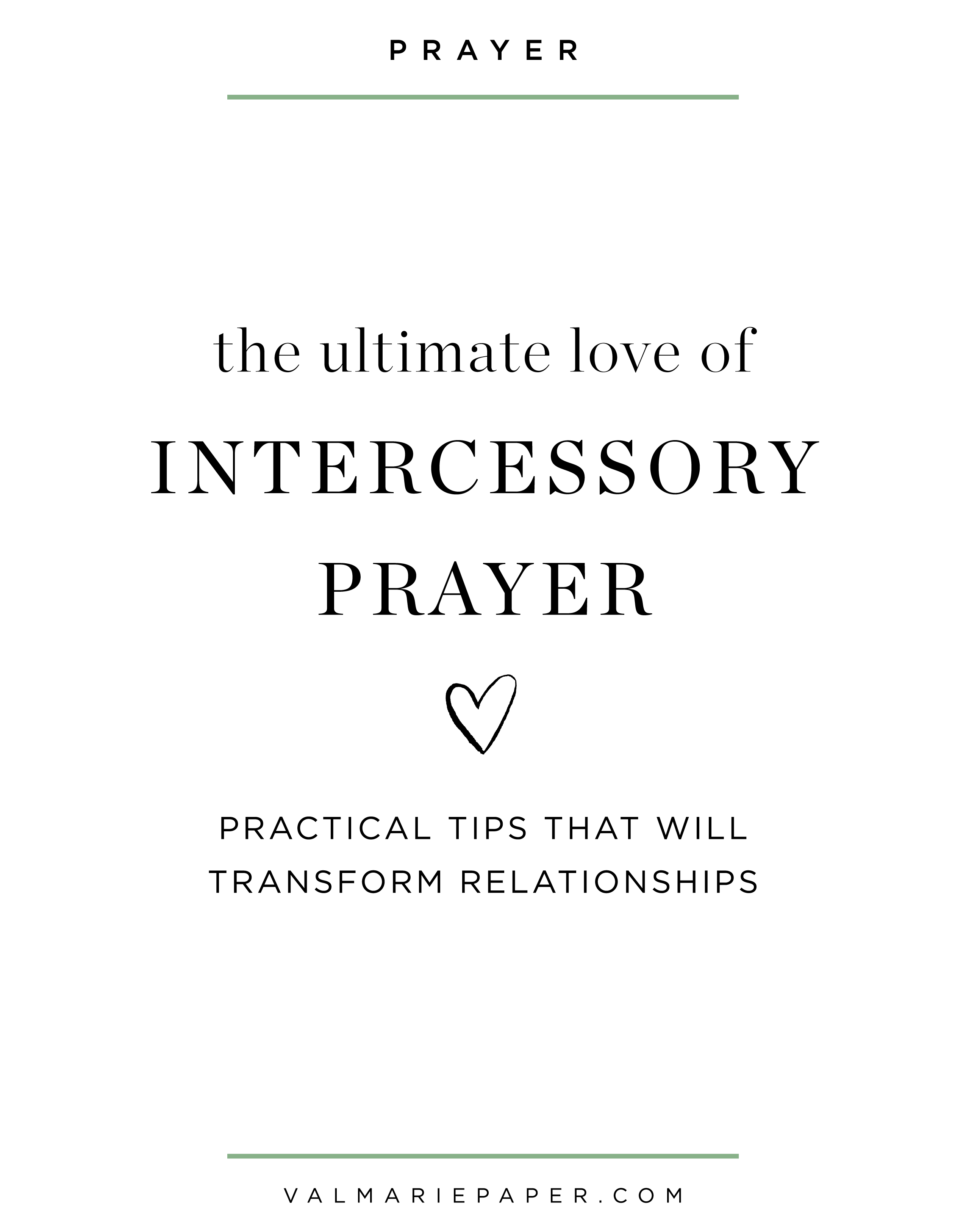 Intercessory Prayer How To Add It To Your Quiet Time