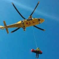 Parapendista infortunato a Castelluccio c'è elicottero 118 con medico a bordo