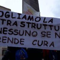 Terremoto, una scuola che non c'è, studenti Norcia a Roma per protesta